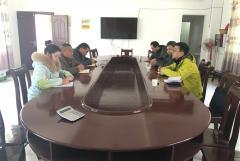 田湾河公司党委组织开展赴金口河对口扶贫村慰问摸底活动