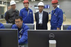 秒速时时彩集团总经理刘体斌、副总经理李文志到川南发电调研指导工作