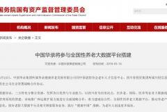 中国华录将参与全国性养老大数据平台搭建