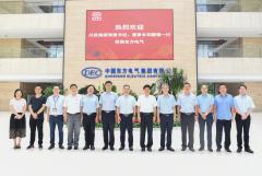 川投集团党委书记、董事长刘国强率队拜访东方电气集团