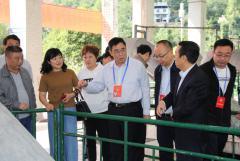 万源市政协主席杨晓波一行到川投水务万源水司调研城区供水保障工作