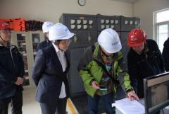刘晓杨副总经理率队赴中江水司和天彭电力开展安全生产大检查