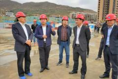 刘国强董事长带队调研引导米易时光水街项目