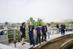 川投水务到德阳市杰阳排水公司考察学习