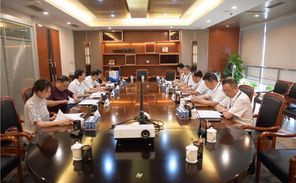 省人大常委会原副主任彭渝一行到川投集团调研