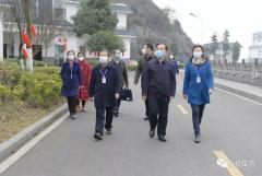 刘体斌董事长、李文志总经理一行赴紫坪铺开发公司督导检查疫情防控工作和安全生产情况