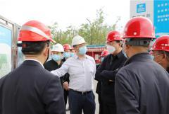 李文志总经理率队赴冠亚西昌大健康公司调研指导工作