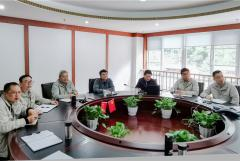 【田湾河公司】大唐水电科学技术研究院到田湾河公司参观交流