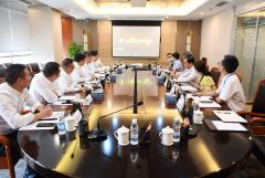 刘体斌董事长会见中建七局党委书记、董事长方胜利一行