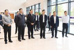 李刚副省长莅临中国牙谷调研指导工作