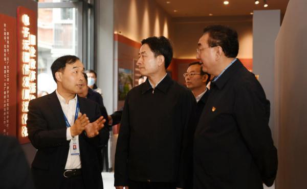 省委常委、宣传部部长甘霖赴川投集团调研