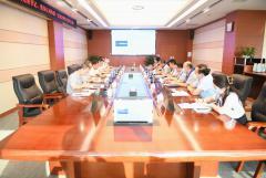 刘体斌董事长一行赴宏明电子调研督导疫情防控、防汛减灾等工作