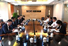 川投集团与华夏银行成都分行举行座谈
